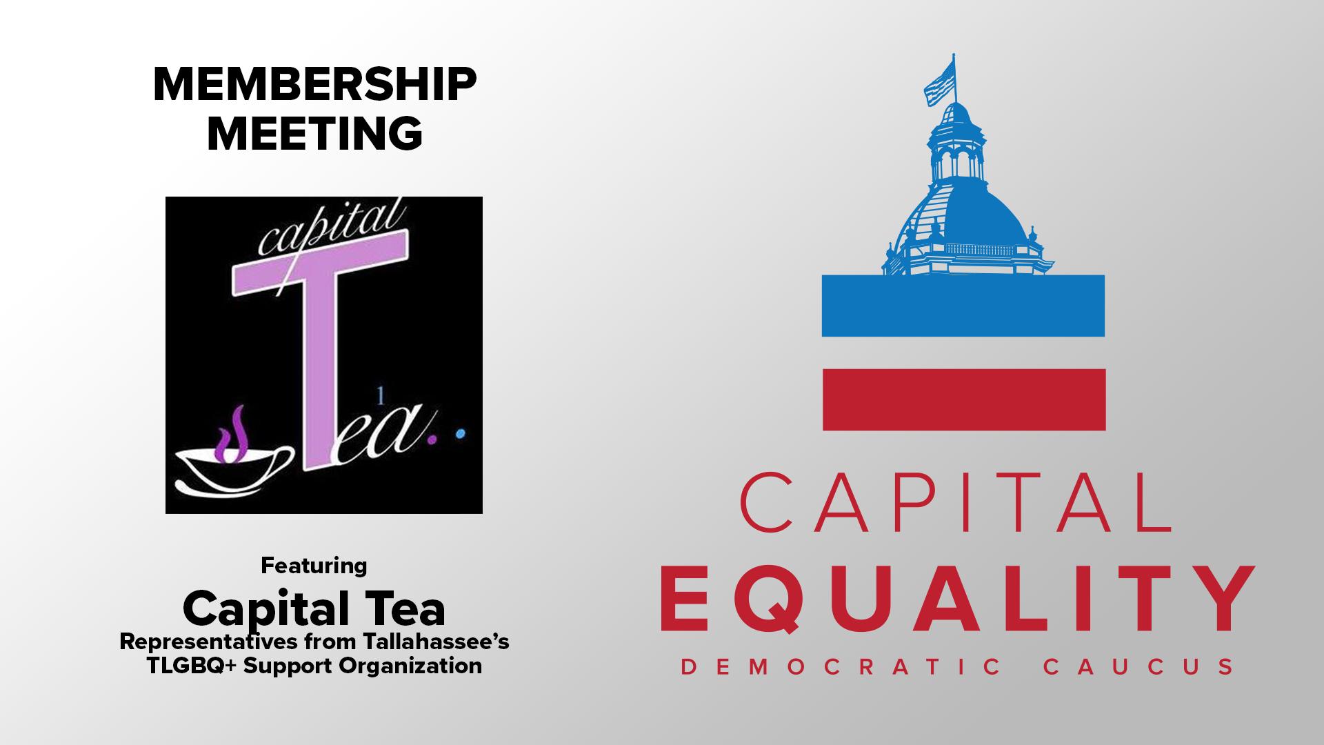 Membership Meeting with Capital Tea Transgender Support Organization